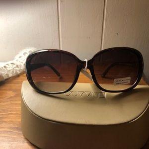 Tommy Hilfiger Brown Oval Sunglasses NWT Shoshanna